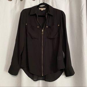 Michael Kors Zip up Shirt